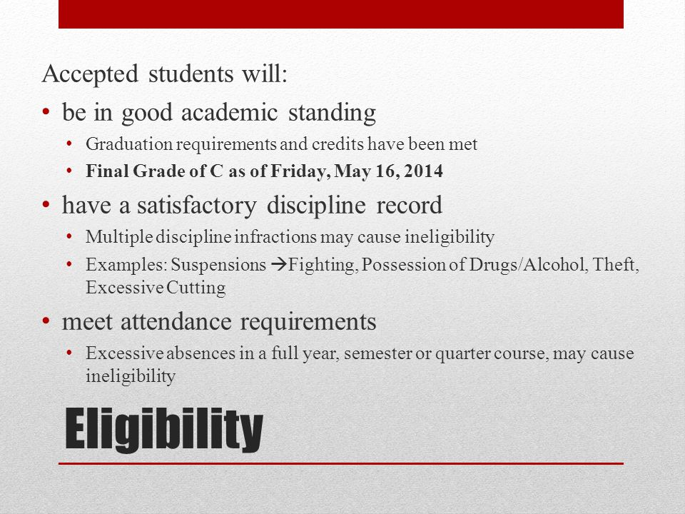 FAQ Q: What about AP classes.A: Internships begin immediately following the last day of AP tests.