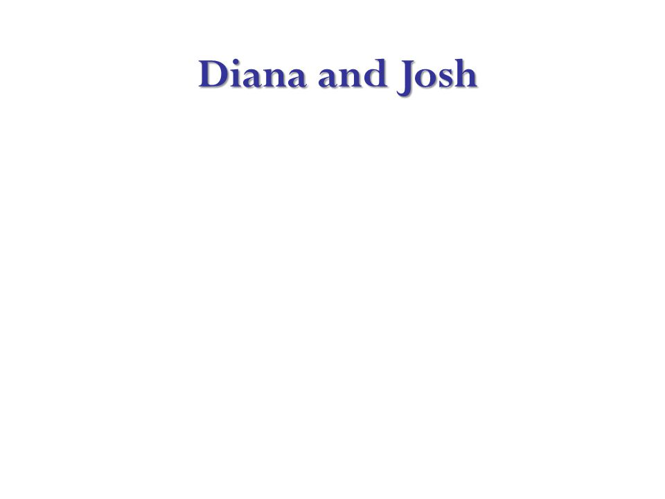 Diana and Josh