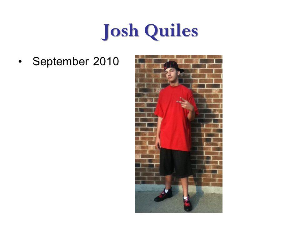 Josh Quiles September 2010