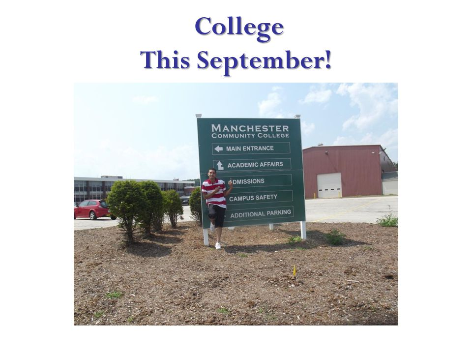 College This September! College This September!