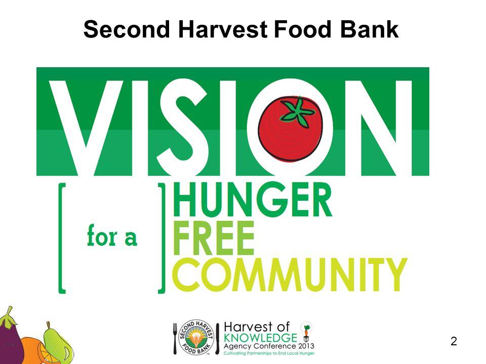 2 Second Harvest Food Bank