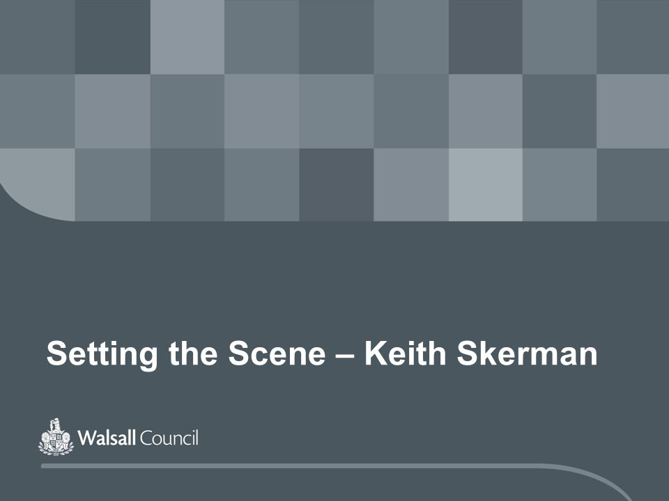 Setting the Scene – Keith Skerman