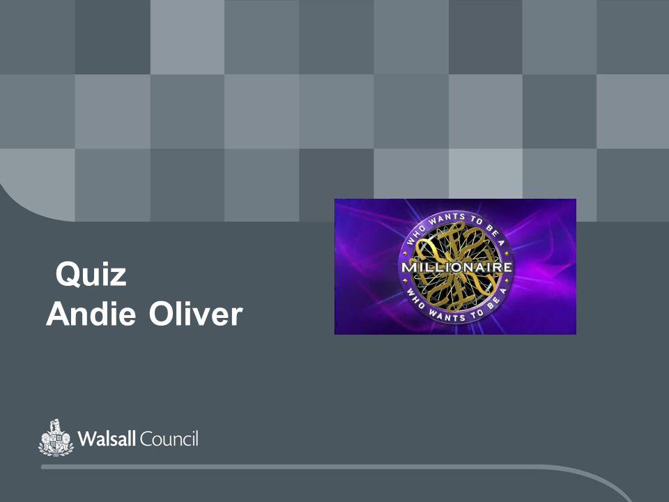 Quiz Andie Oliver