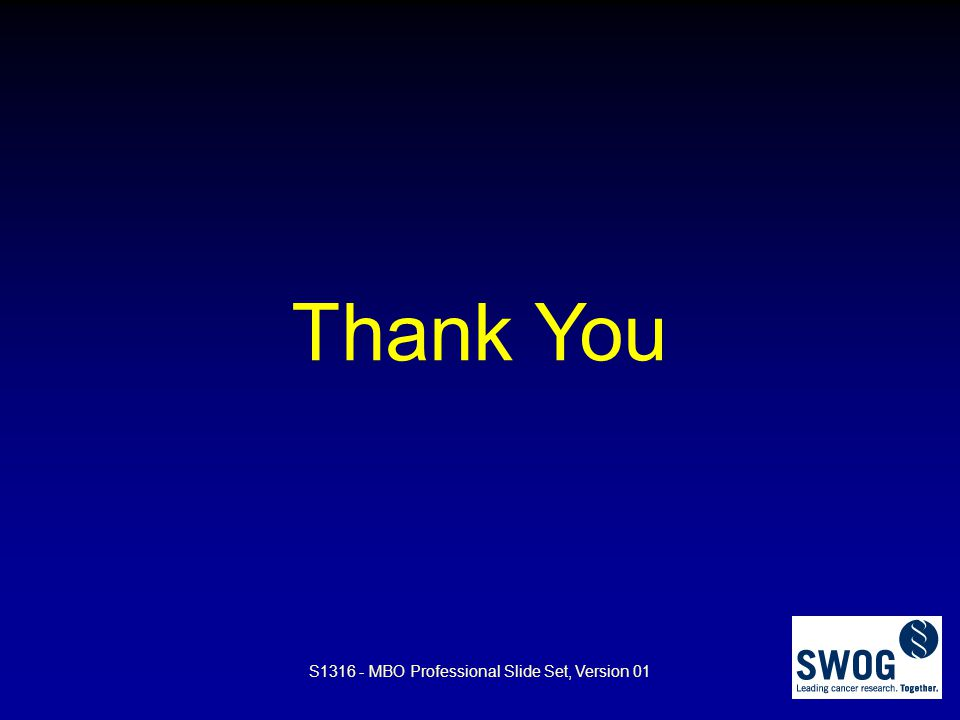 Thank You S1316 - MBO Professional Slide Set, Version 01