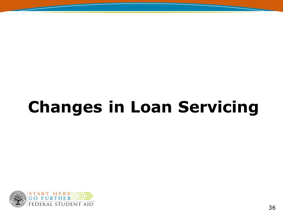 36 Changes in Loan Servicing