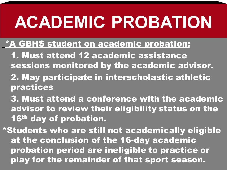 Scholastic Eligibility Code Academic Eligibility