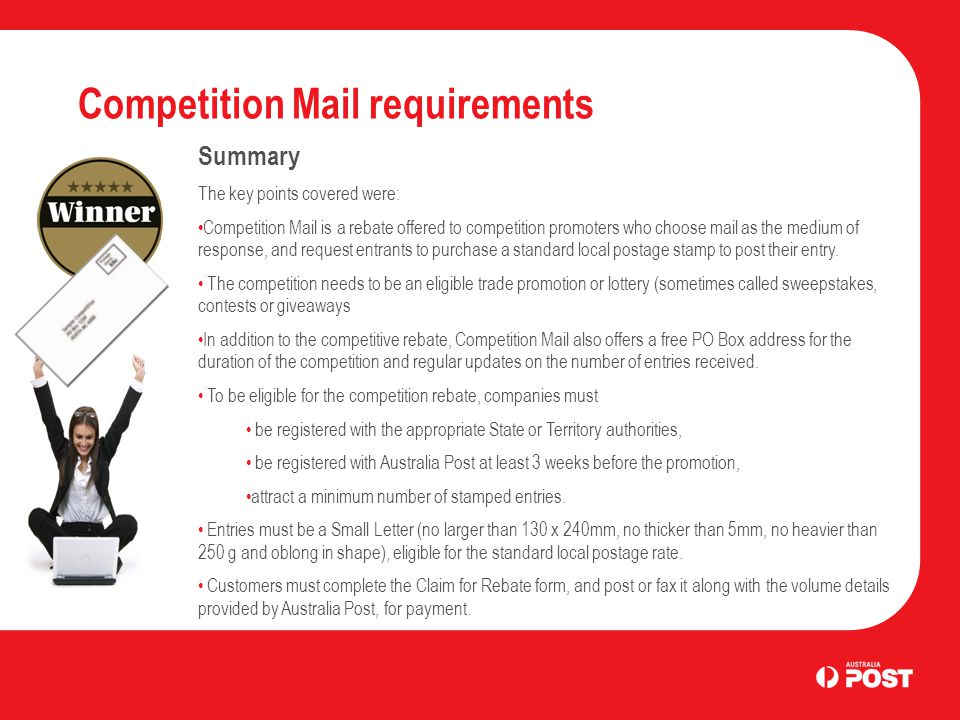 advanced: competition mail business letter services. - ppt download