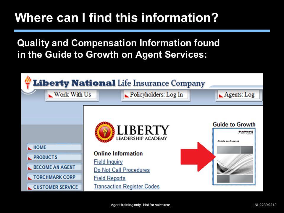 LNL2280 0313 Use the Closing Script