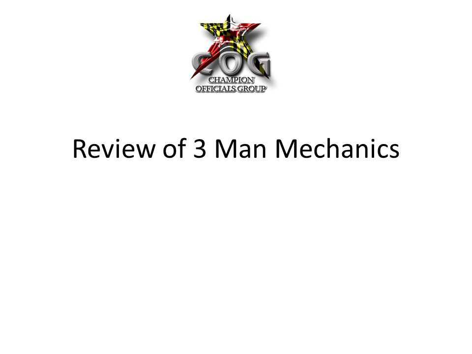 Review of 3 Man Mechanics