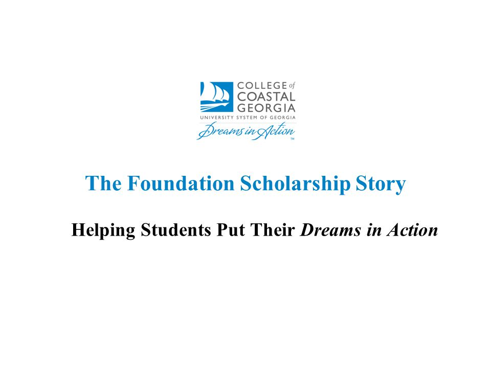 The Foundation Scholarship Story Helping Students Put Their Dreams in Action