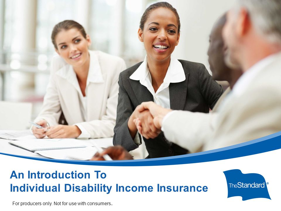 © 2010 Standard Insurance Company 17232PPT (Rev 6/14) SI/SNY Individual Disability Income Insurance (IDI) provides replacement income paid on a monthly basis as the result of a qualifying, disabling injury or sickness.