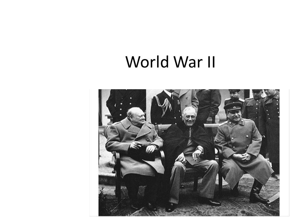 Postwar Reality Consequences of World War II – Soviet Union and U.S.