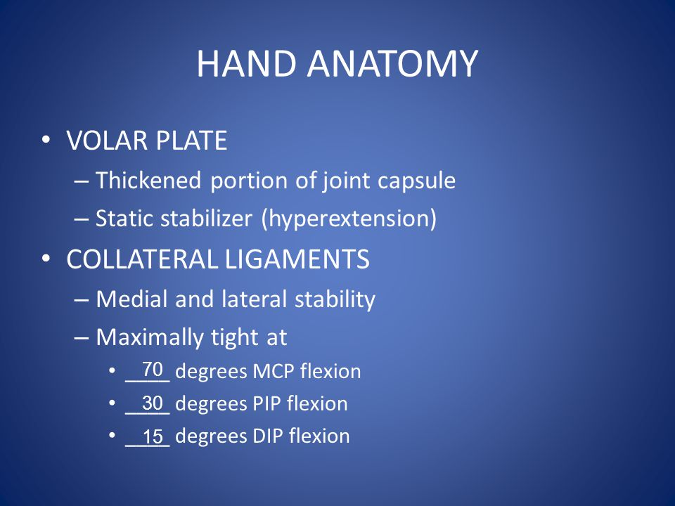 Wrist Pathology Fracture – Scaphoid Ligament-Tendon Injuries – TFCC tear – Scapholunate dissociation – DeQuervain's – Intersection Syndrome – Ganglion Cyst Nerve Injury – Carpal tunnel Other – Kienbocks