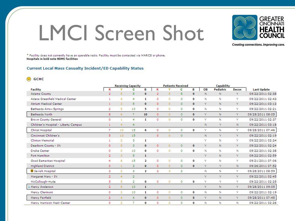 LMCI Screen Shot