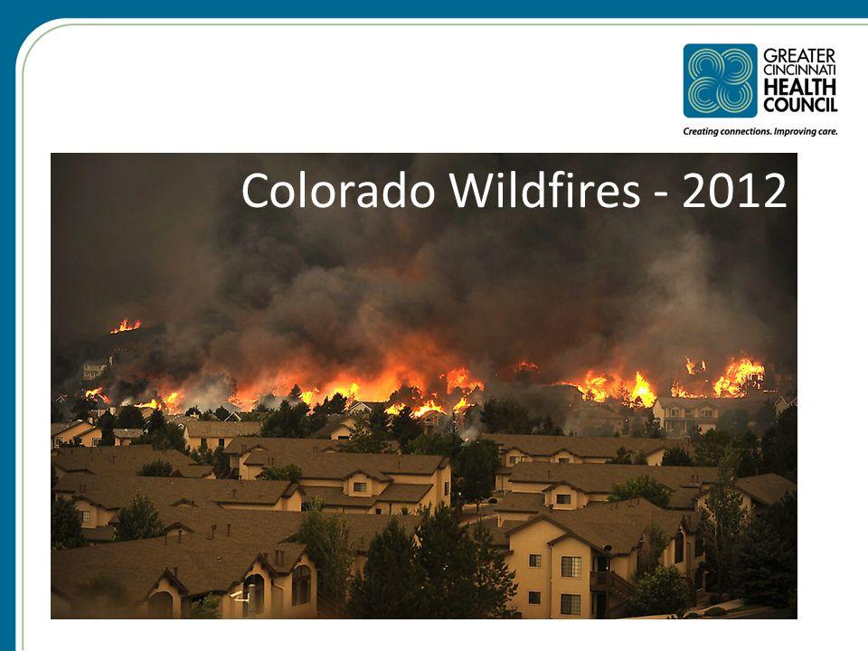 Colorado Wildfires - 2012