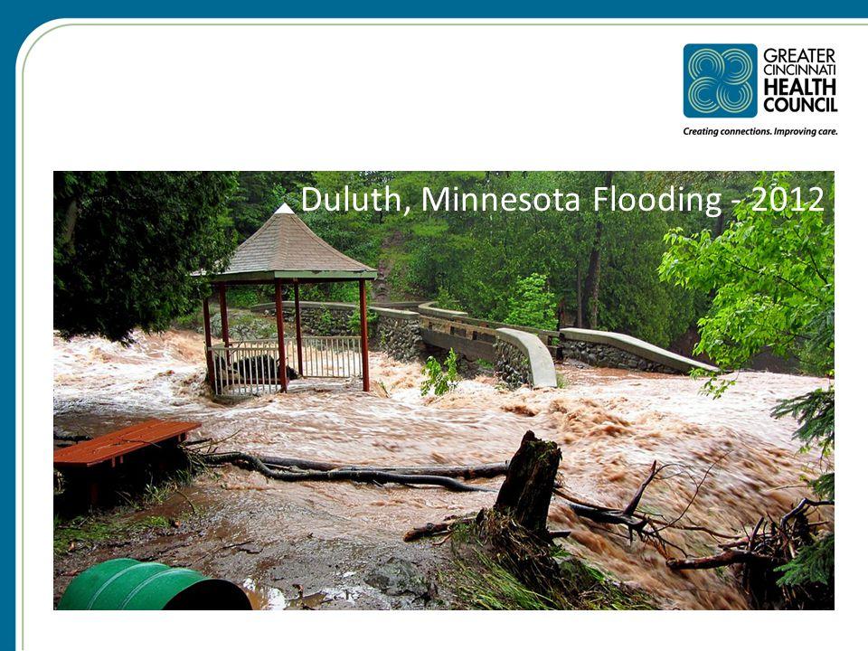 Duluth, Minnesota Flooding - 2012