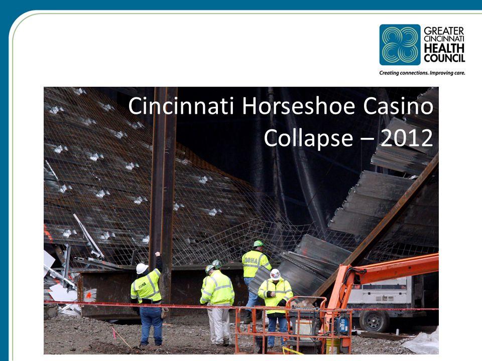 Cincinnati Horseshoe Casino Collapse – 2012