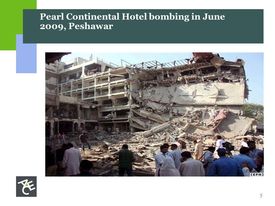 5 Pearl Continental Hotel bombing in June 2009, Peshawar