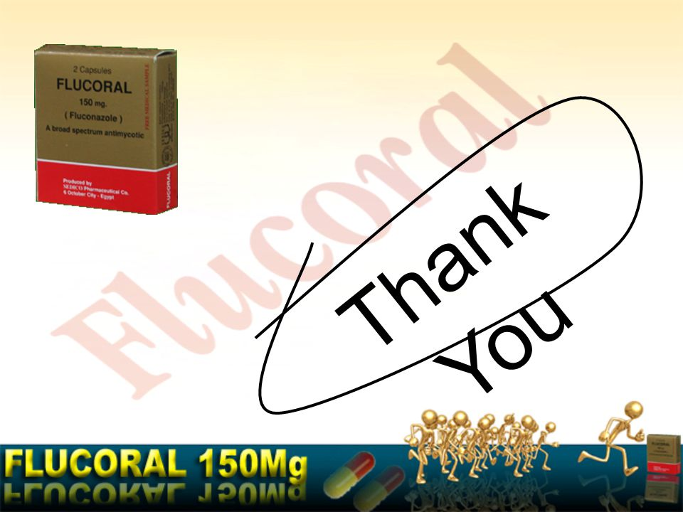 Flucoral ® Flucoral is available as a box containing 2 capsules each containing Fluconazole 150mg with a price of 14.60 LE.