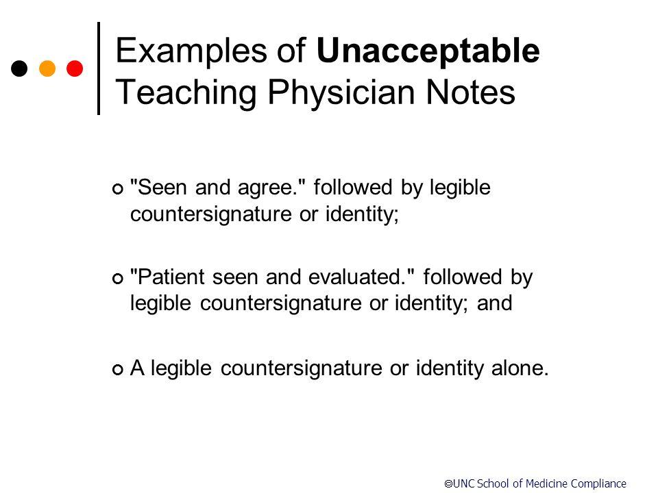  UNC School of Medicine Compliance