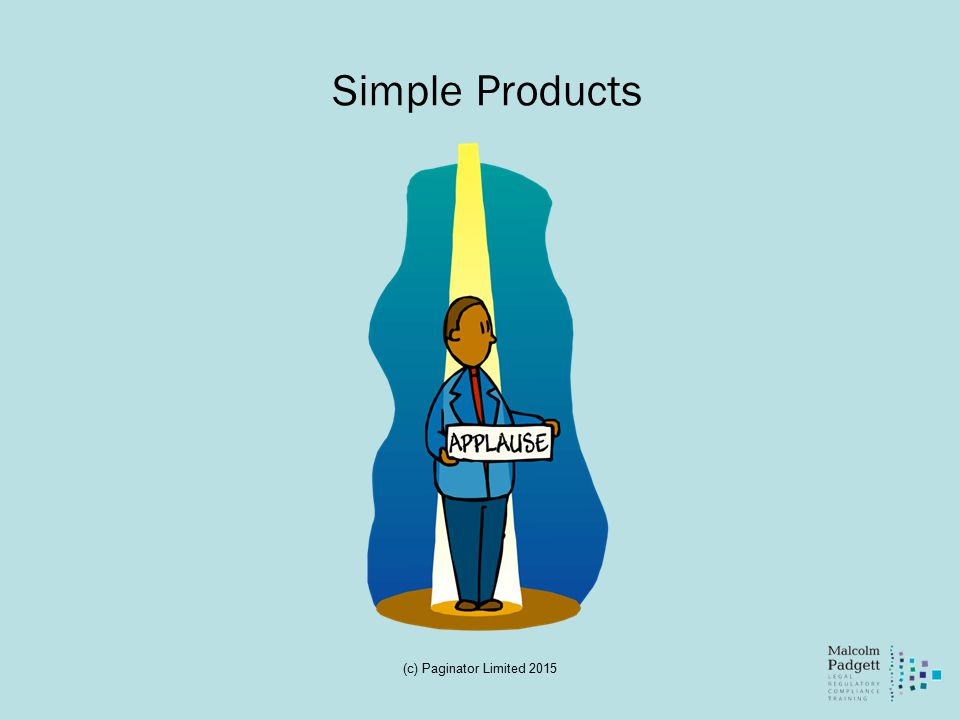 Simple Products (c) Paginator Limited 2015