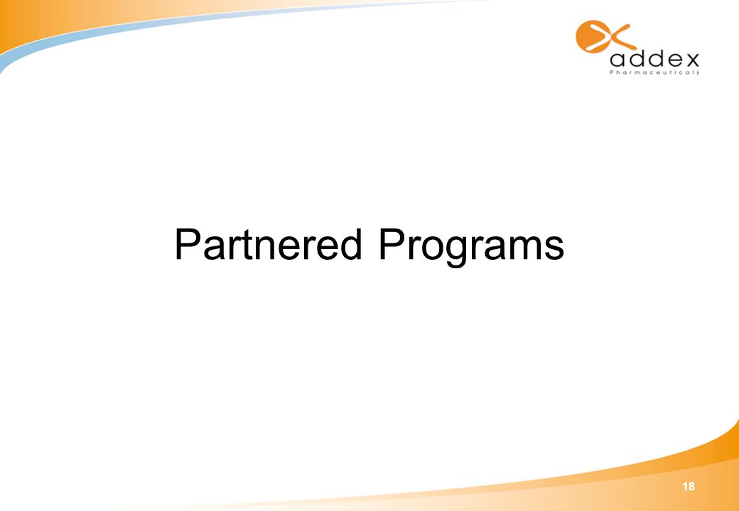 18 Partnered Programs
