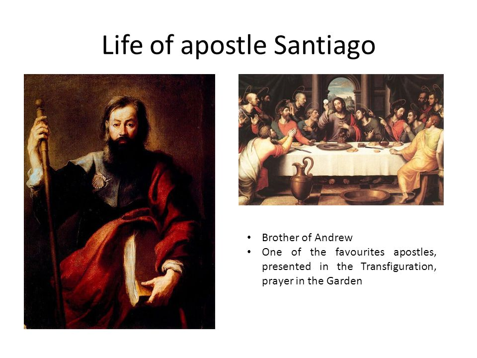 It began with apostle Santiago EVANGELIZATION OF SPAIN According to the tradition, he crossed the Mediterranean to come to Spain.