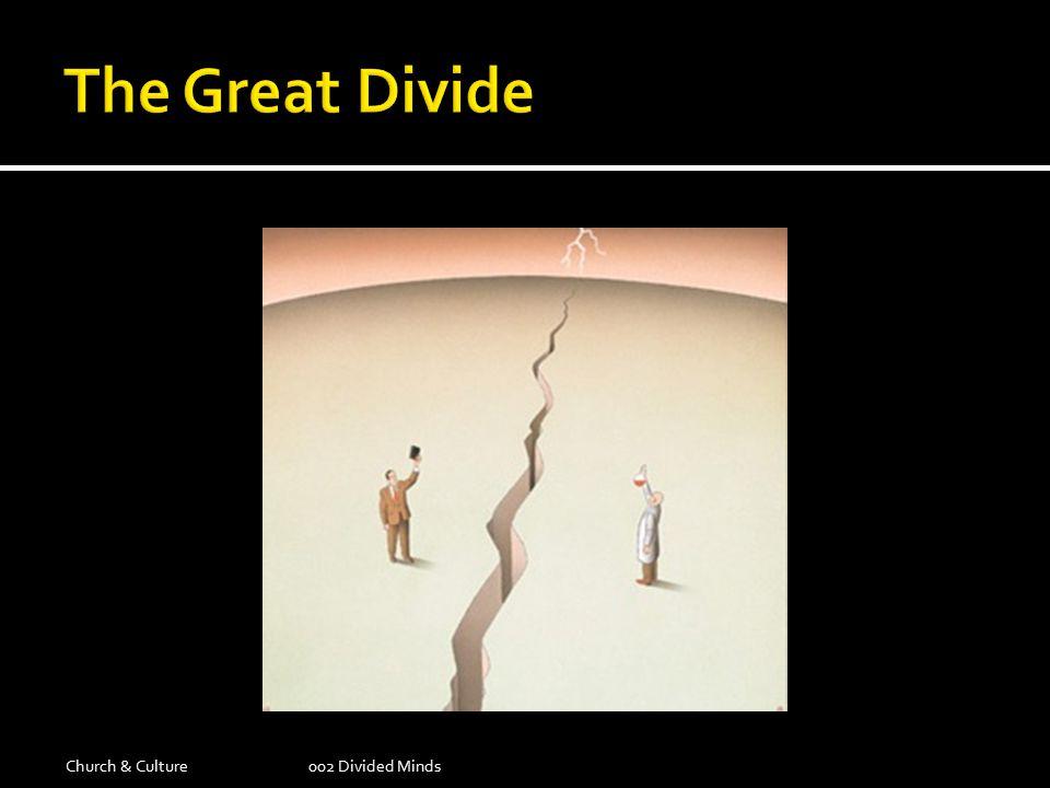 Church & Culture002 Divided Minds