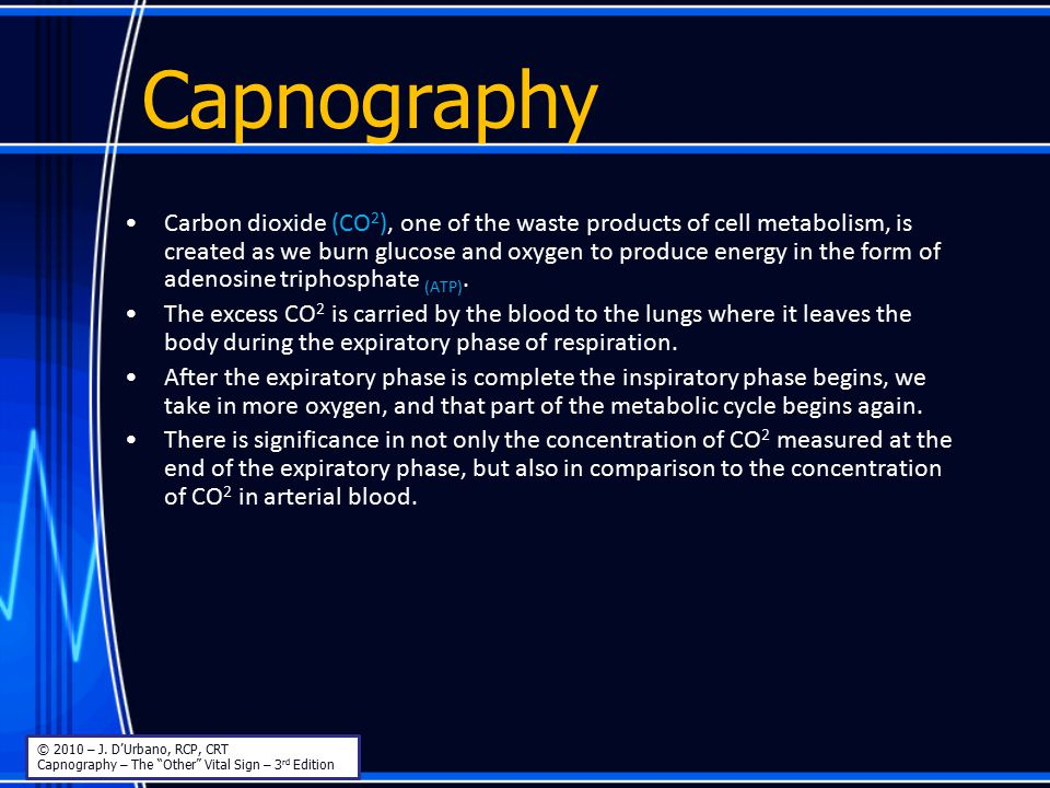Capnography Mainstream – Disadvantages MainstreamMainstream © 2010 – J.