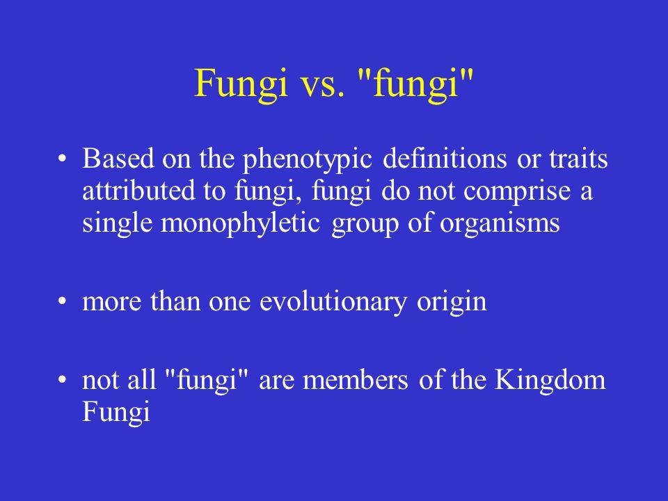 Fungi vs.