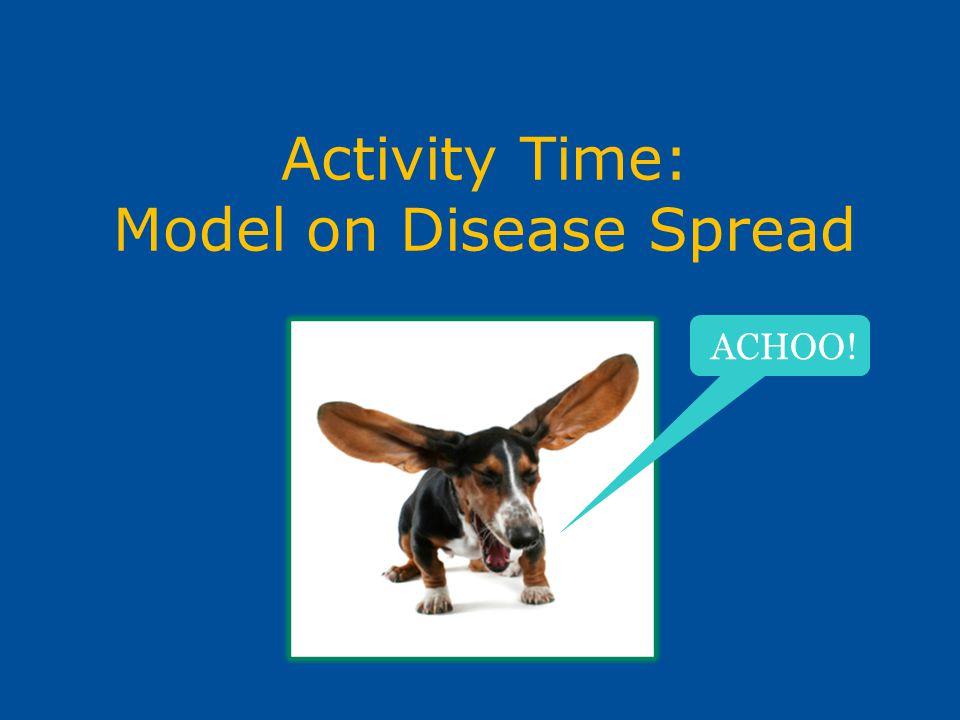 Activity Time: Model on Disease Spread ACHOO!