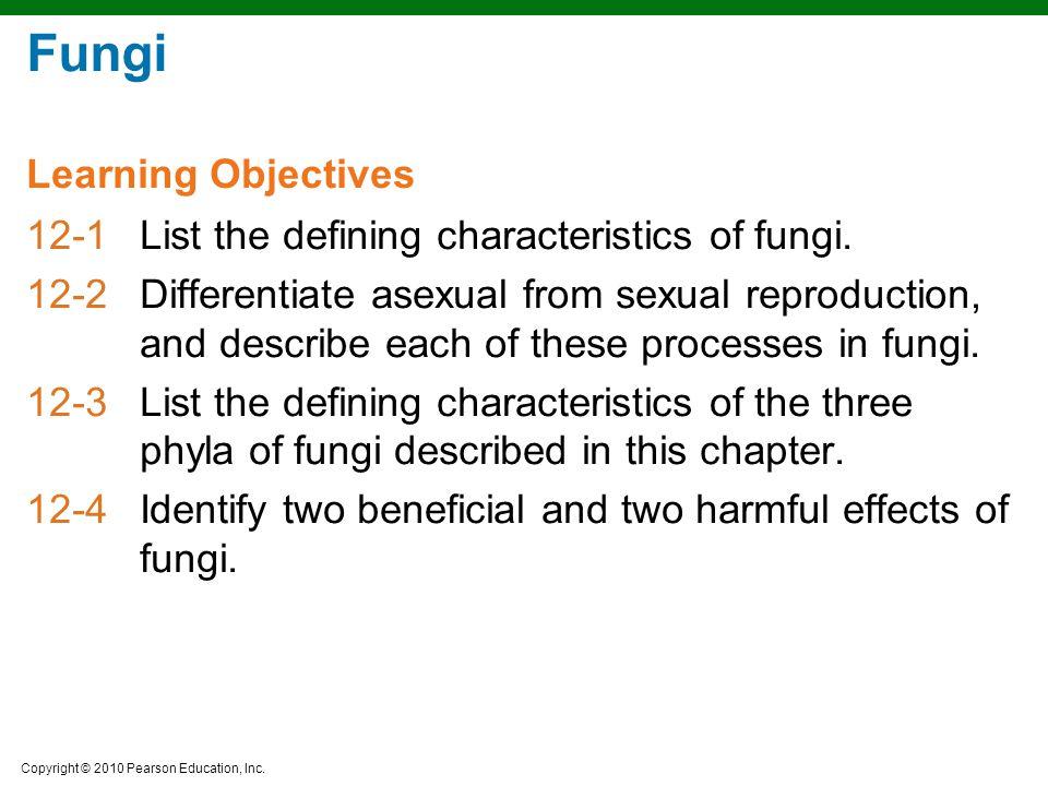 Copyright © 2010 Pearson Education, Inc. Figure 12.5e Asexual Reproduction  Sporangiospores