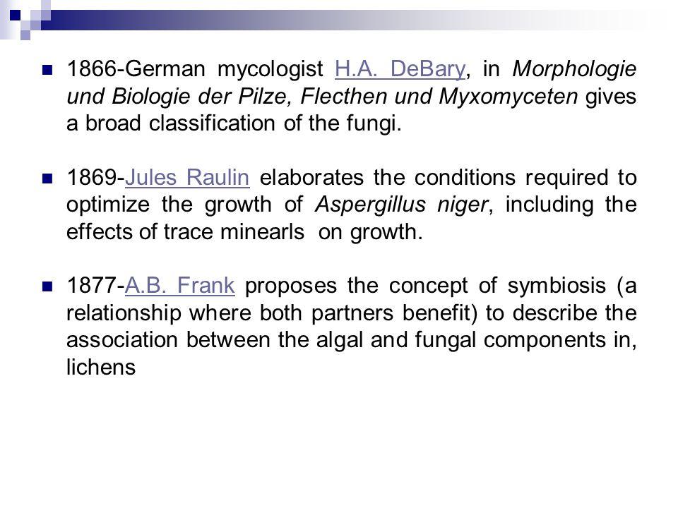1866-German mycologist H.A.