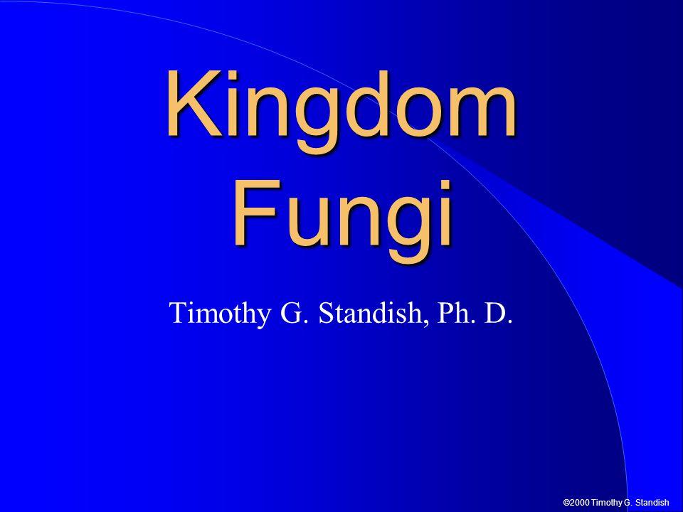 ©2000 Timothy G. Standish Kingdom Fungi Timothy G. Standish, Ph. D.