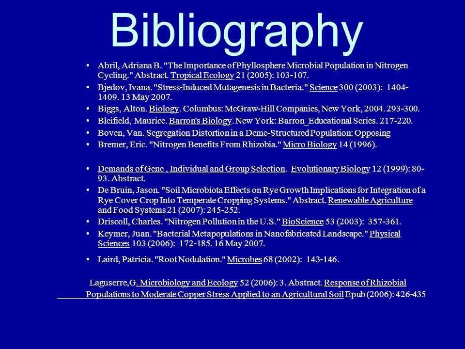 Bibliography Abril, Adriana B.