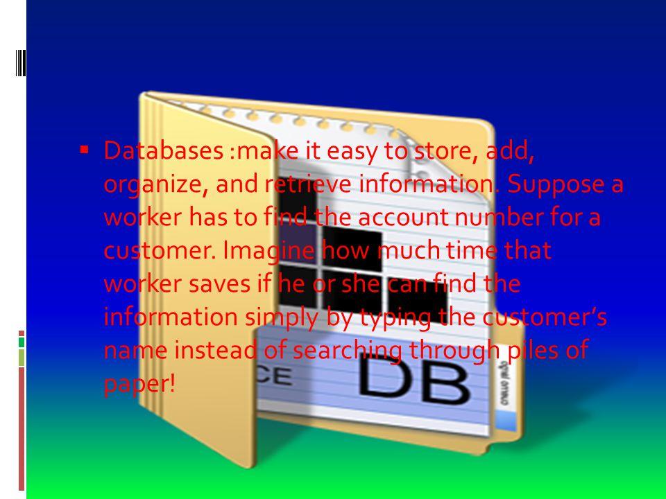 Vocabulary  garbage in, garbage out (GIGO)  a phrase that stresses the importance of inputting accurate data in a database  entra basura, sale basura  frase que destaca la importancia de introducir datos precisos en una base de datos