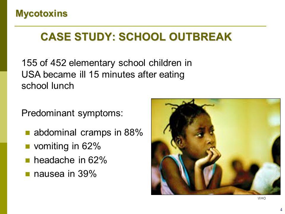 Mycotoxins CASE STUDY: HISTORY OF PRESENT ILLNESS  Who else is ill.