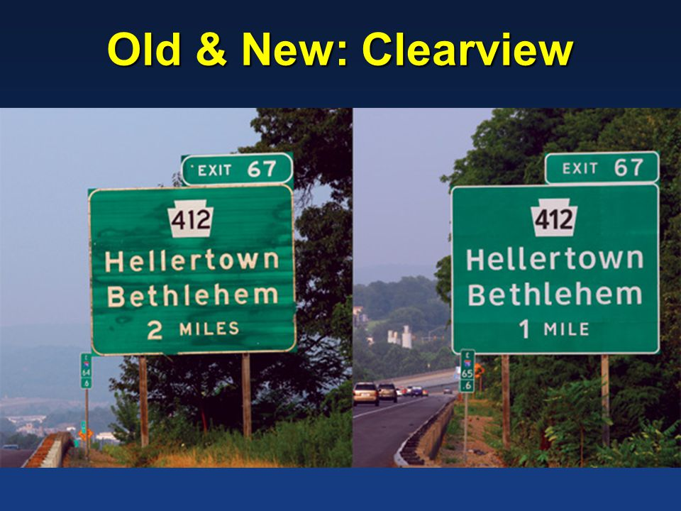 Old & New: Clearview