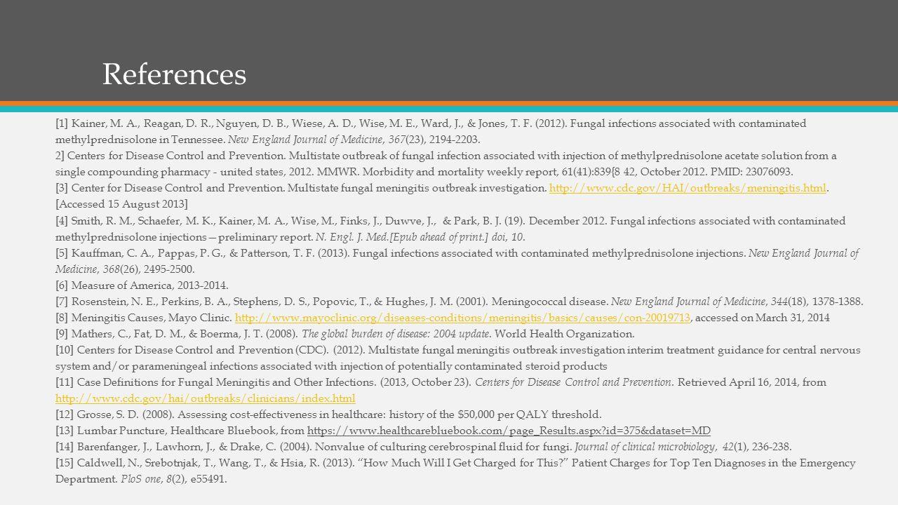 References [1] Kainer, M. A., Reagan, D. R., Nguyen, D.