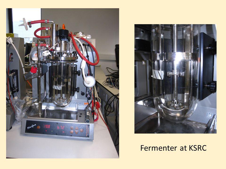 Fermenter at KSRC