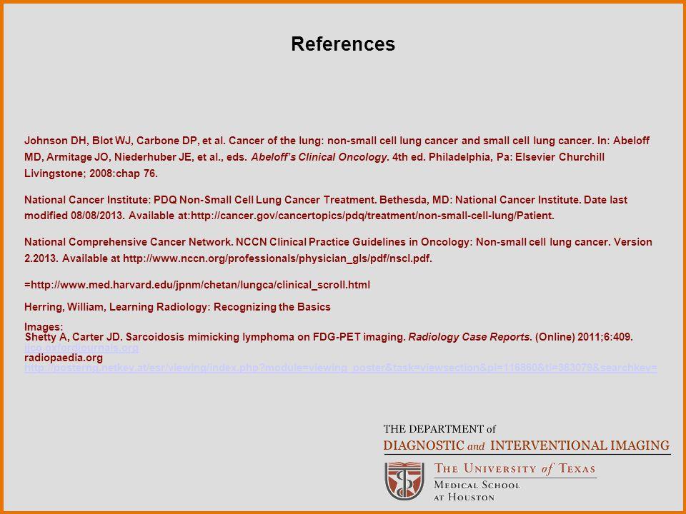 Johnson DH, Blot WJ, Carbone DP, et al.