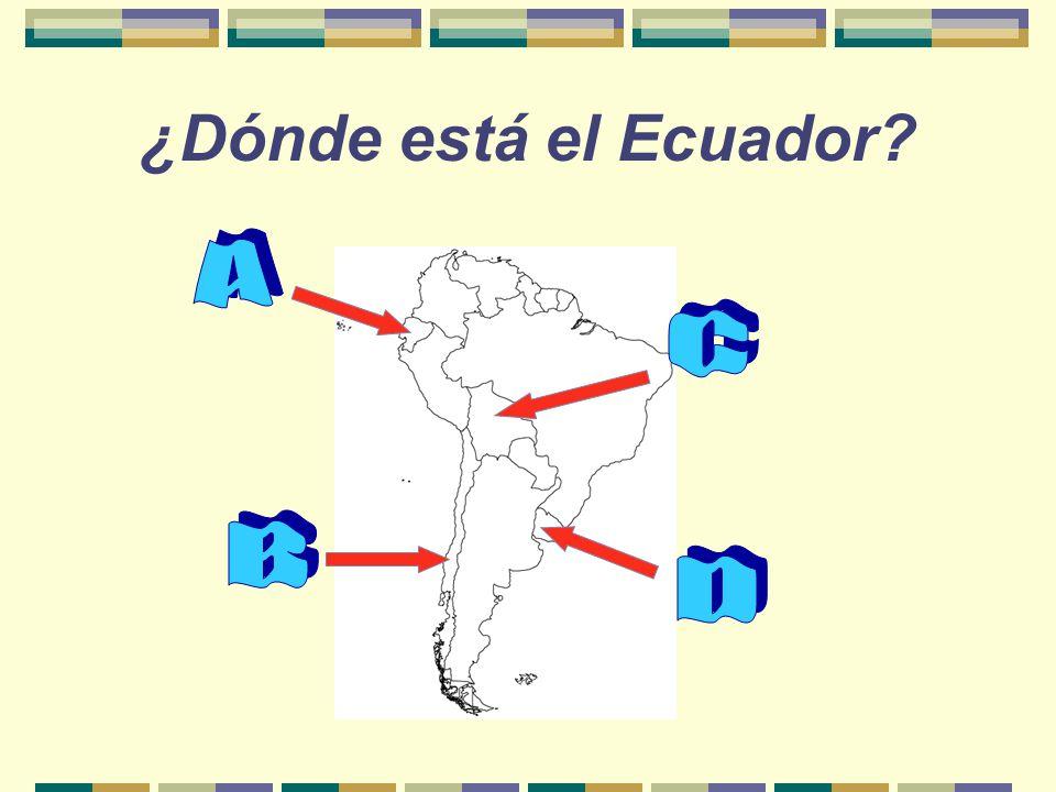 ¿Cuánto sabes del… ECUADOR