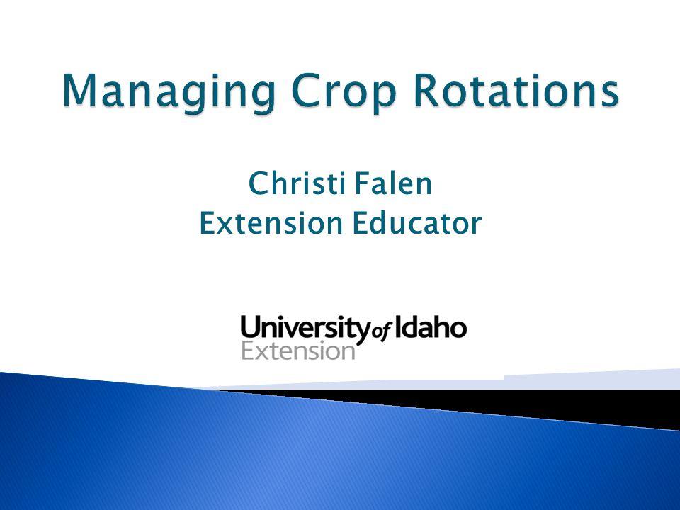 Christi Falen Extension Educator