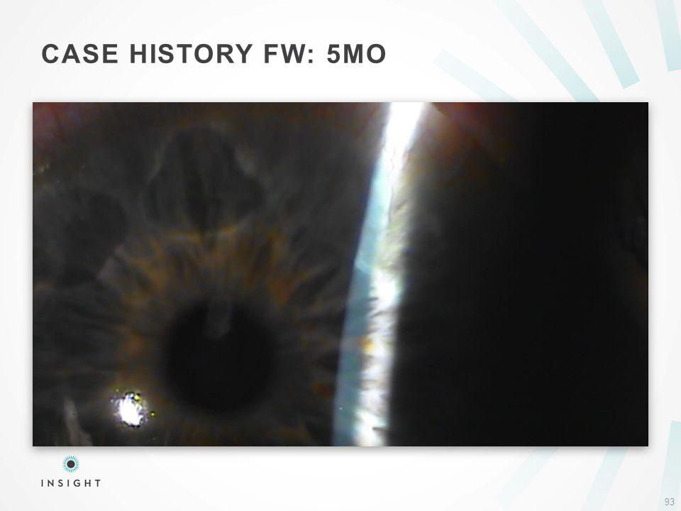 CASE HISTORY FW: 5MO 93