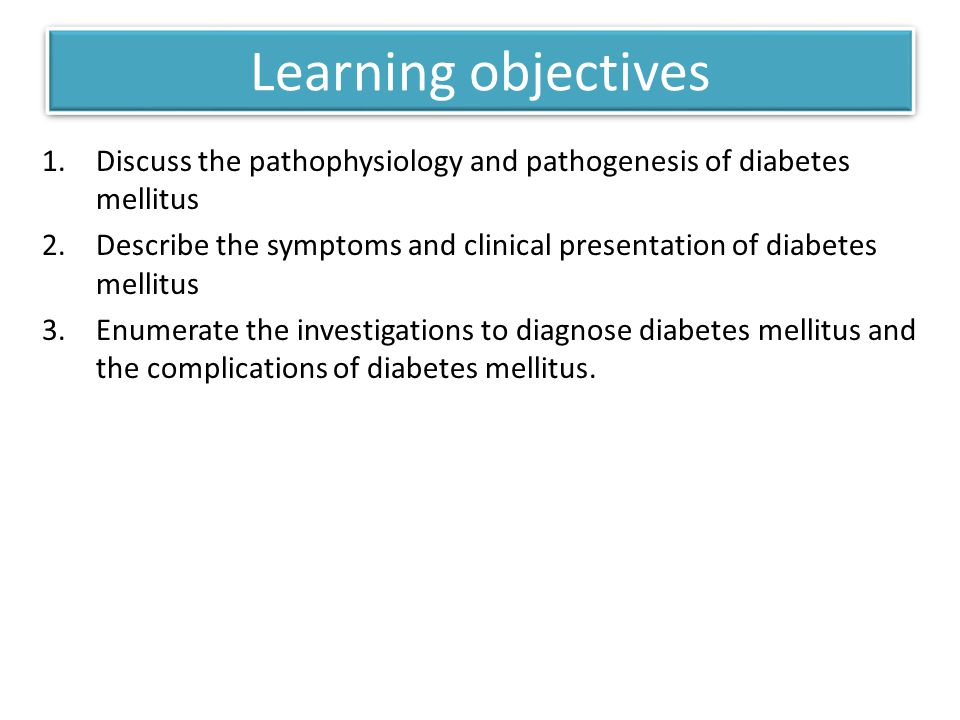 THE CLASSIFICATION OF DM Diagnosis and Classification of Diabetes Mellitus.