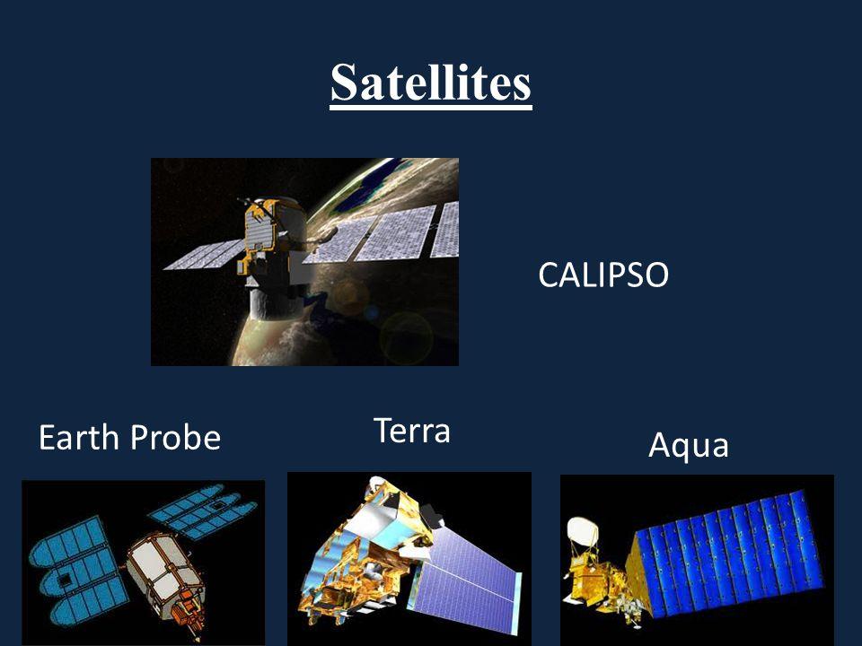 Satellites Earth Probe CALIPSO Terra Aqua