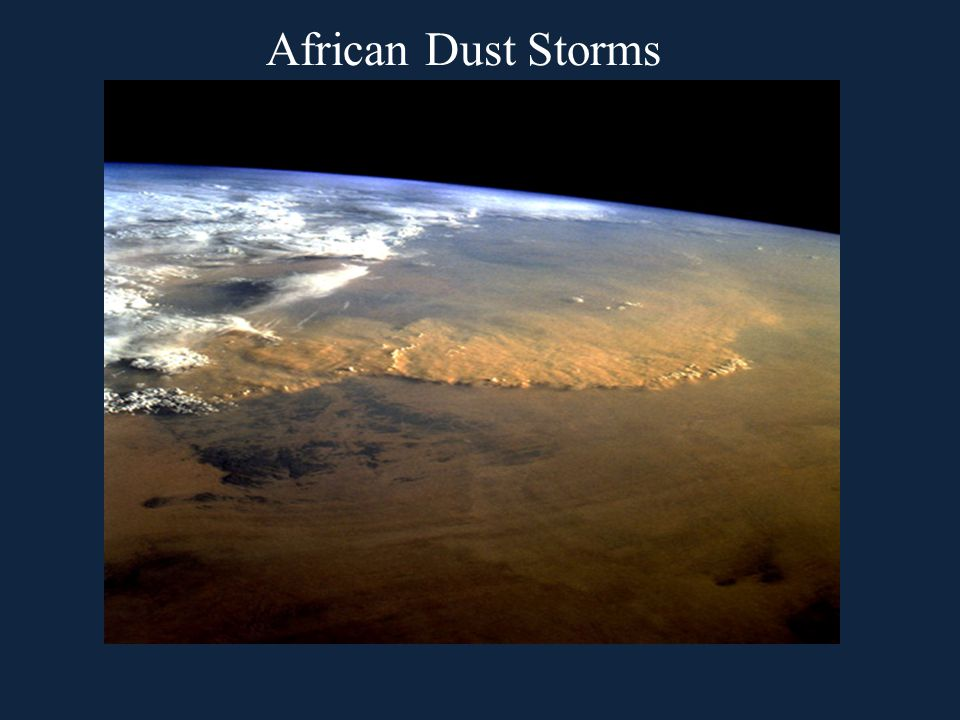 African Dust Storms