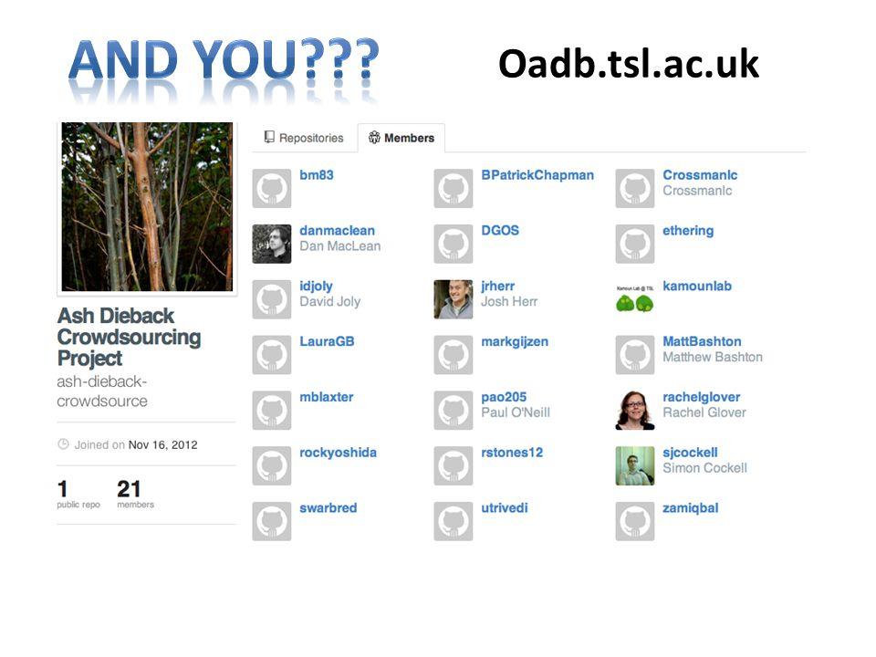 Oadb.tsl.ac.uk
