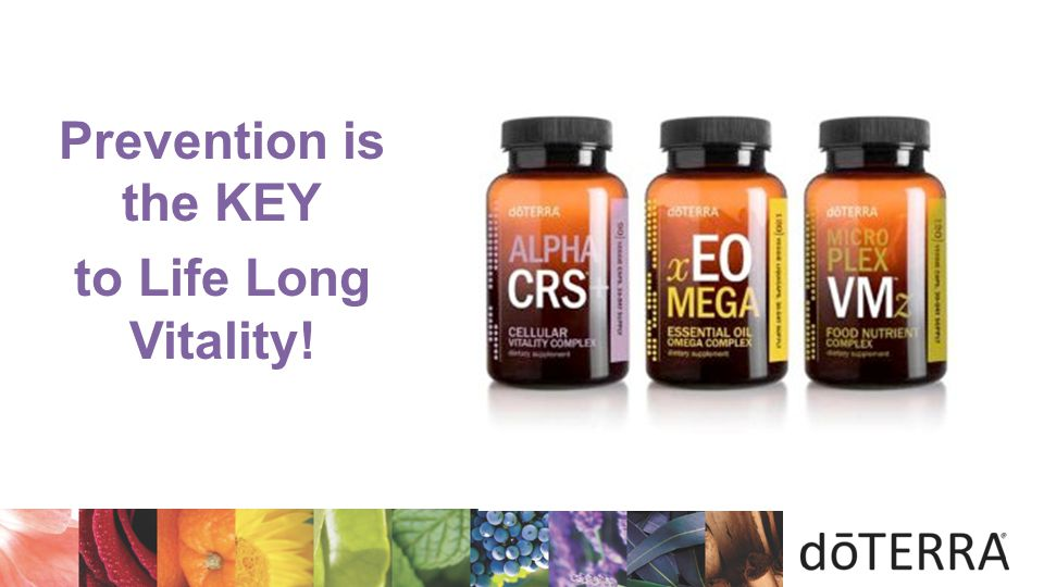 Prevention is the KEY to Life Long Vitality! 