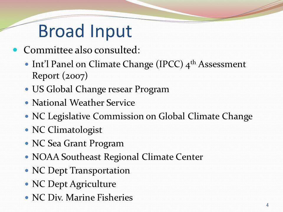 Faculty Committee on Global Climate Change Report UNC Wilmington 35